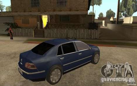 Volkswagen Phaeton 2005 для GTA San Andreas