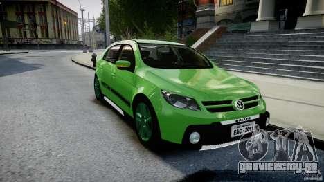 Volkswagen Gol Rallye 2012 v2.0 для GTA 4 вид сзади