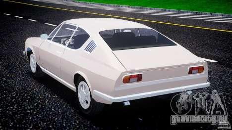 Audi 100 Coupe S для GTA 4 вид сбоку