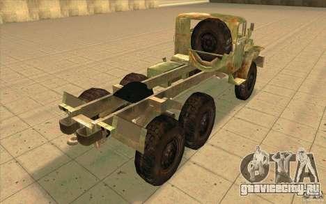 Урал-44202 для GTA San Andreas вид сзади слева