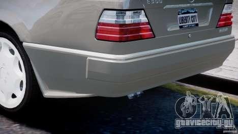 Mercedes-Benz W124 E500 1995 для GTA 4