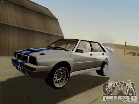 Lancia Integrale Evo для GTA San Andreas
