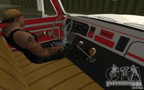 Chevrolet Эвакуатор для GTA San Andreas вид справа