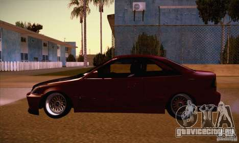 Honda Civic Tuning 2012 для GTA San Andreas вид слева