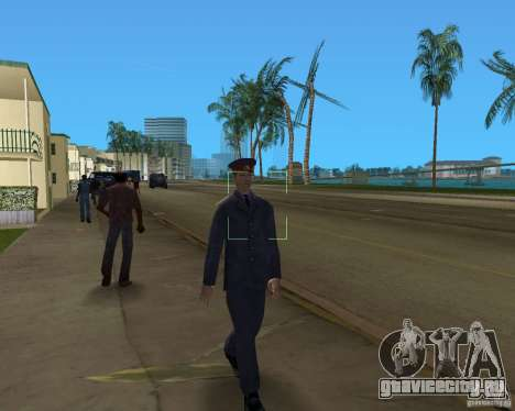 Русский мент для GTA Vice City четвёртый скриншот