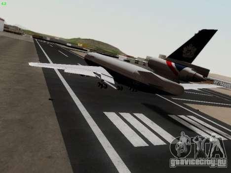 McDonell Douglas DC-10-30 British Airways для GTA San Andreas