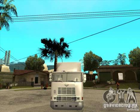 Navistar International 9800 для GTA San Andreas вид сзади