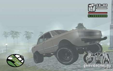 AZLK-2140 4x4 для GTA San Andreas вид слева