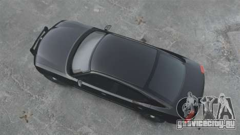 Dodge Charger RT Hemi FBI 2007 для GTA 4 вид сзади слева