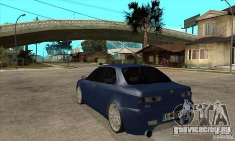 Alfa Romeo 156 Light Tune для GTA San Andreas