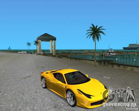 Ferrari 458 Italia для GTA Vice City