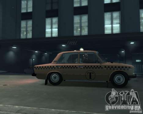 ВАЗ 2106 Такси для GTA 4 вид слева