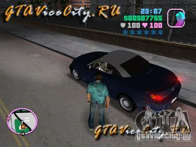 Lexus для GTA Vice City
