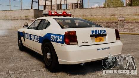 Полицейский Buffalo ELS для GTA 4 вид сзади слева