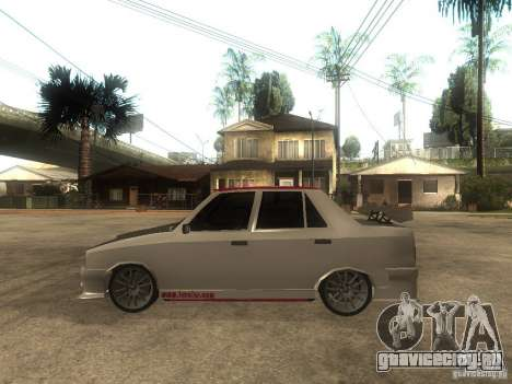 Renault 9 GTD для GTA San Andreas вид слева