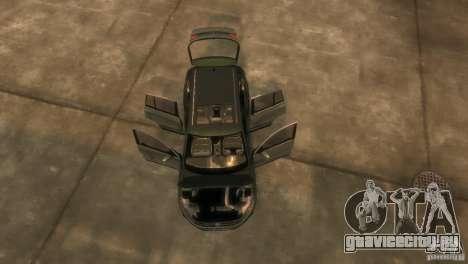 Volkswagen Tiguan для GTA 4 вид изнутри