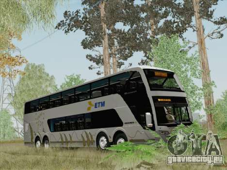 Busscar Panoramico DD 8x2 для GTA San Andreas салон