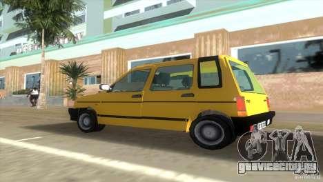 Daewoo Tico для GTA Vice City вид сзади слева