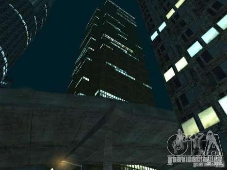 Новые текстуры небоскрёбов LS для GTA San Andreas одинадцатый скриншот