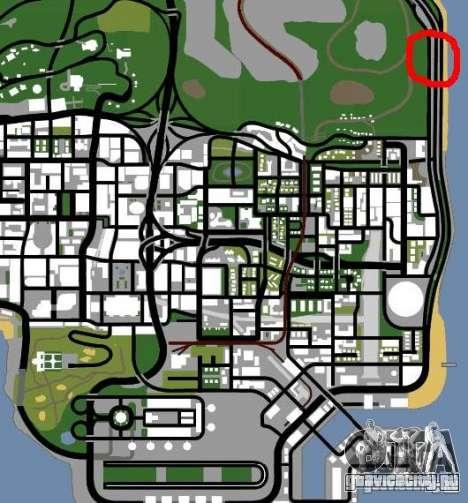 Полицейский пост 2 для GTA San Andreas пятый скриншот