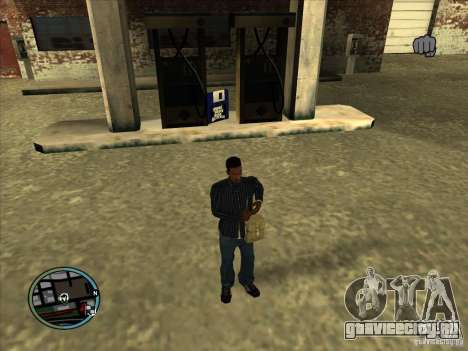 SA IV WEAPON SCROLL 2.0 для GTA San Andreas третий скриншот