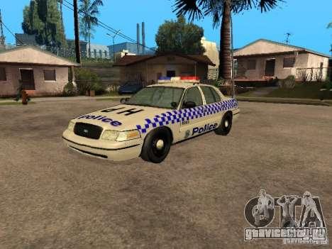 Ford Crown Victoria NSW Police для GTA San Andreas