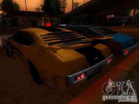 Clover Tuning для GTA San Andreas вид сзади слева