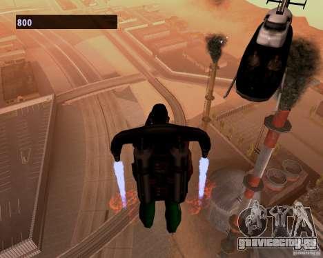 Пилоты в вертолетах для GTA San Andreas третий скриншот