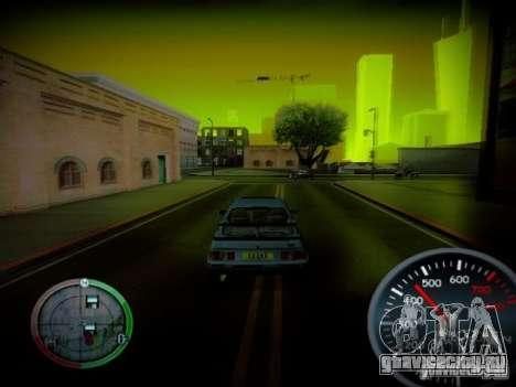 Спидометр by CentR v2 для GTA San Andreas третий скриншот