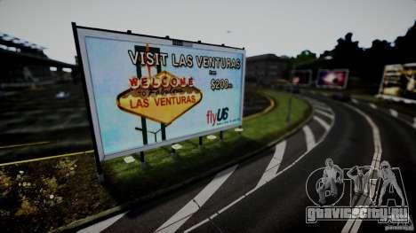 Realistic Airport Billboard для GTA 4 пятый скриншот