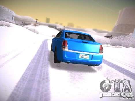 Chrysler 300C SRT8 2011 для GTA San Andreas вид слева