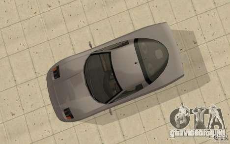 Coquette из GTA 4 для GTA San Andreas вид справа