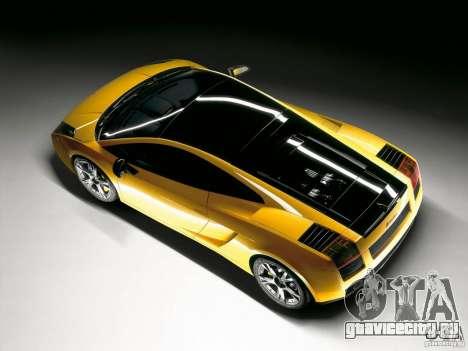 Lamborghini Loadscreens для GTA San Andreas второй скриншот