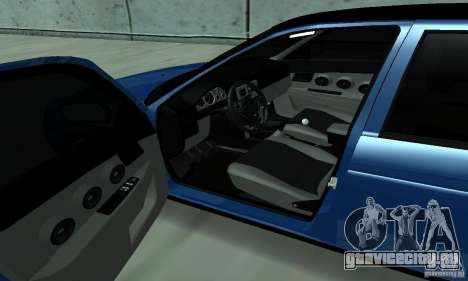 Lada Priora 2012 для GTA San Andreas вид справа