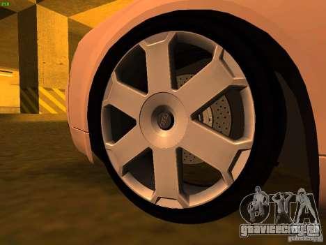 Audi S4 OEM для GTA San Andreas вид справа