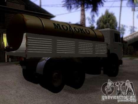 КамАЗ 53212 Молоковоз для GTA San Andreas вид слева