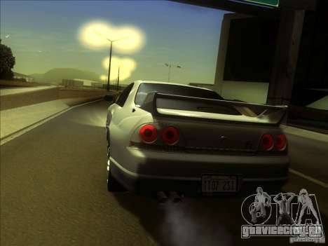 Nissan Skyline GTR BNR33 для GTA San Andreas вид справа