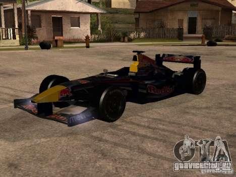 F1 Red Bull Sport для GTA San Andreas