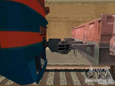 ВЛ10-1472 для GTA San Andreas вид справа