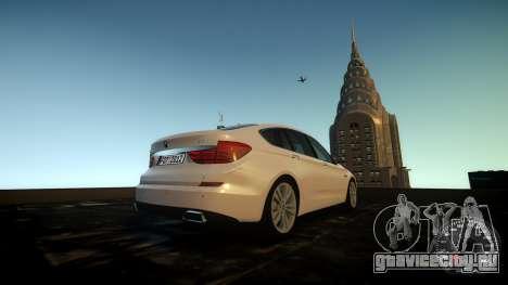BMW GT F07 2012 GranTurismo для GTA 4 вид изнутри