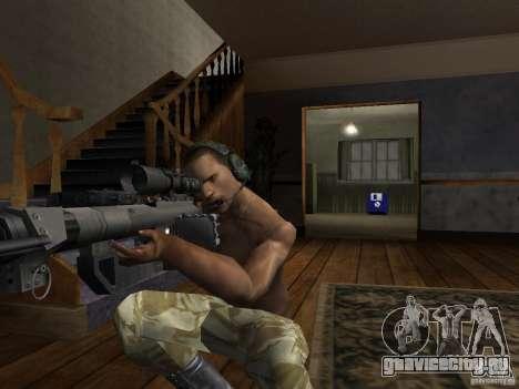 Головные уборы Call of Duty 4: Modern Warfare для GTA San Andreas шестой скриншот