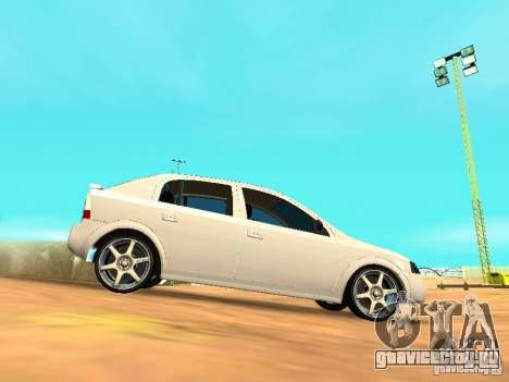 Chevrolet Astra Hatch 2010 для GTA San Andreas вид слева