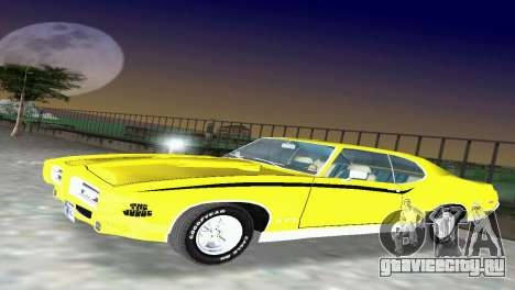 Pontiac GTO The Judge 1969 для GTA Vice City вид слева