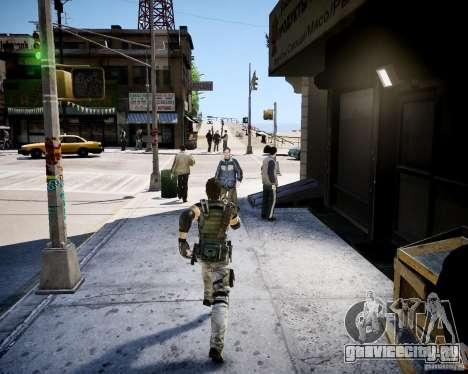 Chris from Resident Evil 5 для GTA 4 второй скриншот