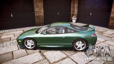 Mitsubishi Eclipse 1998 для GTA 4 вид слева