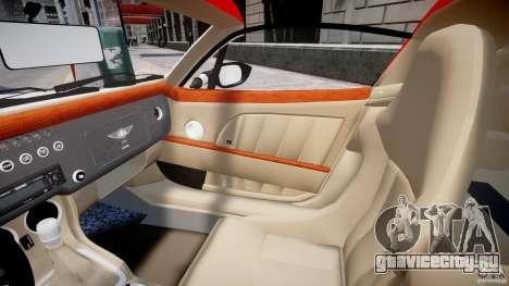 Morgan Aero SS v1.0 для GTA 4 вид изнутри