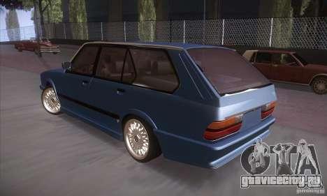 BMW E28 Touring для GTA San Andreas вид справа