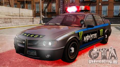 Полиция Monster Energy для GTA 4