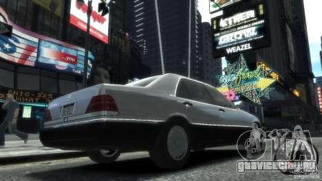Mercedes-Benz 600SEL wheel2 tinted для GTA 4 вид слева