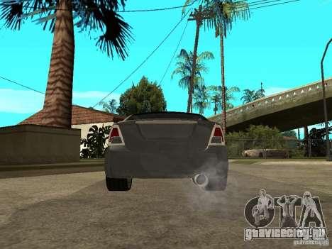 Ford Fusion 2008 Dub для GTA San Andreas вид сзади слева